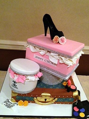 Enjoyable A Divas 60Th Bling Birthday Cake A Photo On Flickriver Birthday Cards Printable Inklcafe Filternl