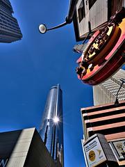 Hard Rock Cafe (W_von_S) Tags: city atlanta music usa reflection architecture georgia restaurant us unitedstates outdoor sony stadt architektur musik hardrockcafe werner reflexionen vereinigtestaaten wvons alpha7rm2