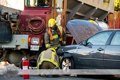 C-K Fire - MVC, Colborne St. & Princess St. N., 11/9/2015 (Front Page Photography / Hooks & Halligans) Tags: fire kent crash accident chatham vehicle service motor ck department services mva dept collision mvc chathamkent