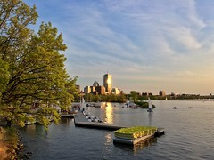 Boston Esplanade ((Jessica)) Tags: sunset water boston massachusetts newengland esplanade pw