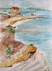 Cap d'Agde, Sur le chemin juste après de le plage de la Conque (geneterre69) Tags: