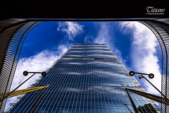 a look from 20 mm (Tiziano Photography) Tags: sky panorama clouds skyscraper reflections landscape nikon nuvole milano cielo d750 20mm grattacielo riflessi nikond750