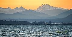 Cascade Mountain Sunrise.jpg (Eye of G Photography) Tags: usa sunrise places northamerica pugetsound layers washingtonstate sunsetsunrise skagitvalley cascademts marchpoint