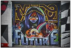 JAYKAES - THE MEN WTIH NO FUTURE (StockCarPete) Tags: streetart shoreditch shutters kaes londonstreetart shutterart ghostwriters jaykaes