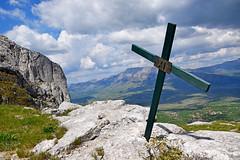 Kijevski Bat (1206 m), Kozjak (Hrvoje aek) Tags: mountain nature hiking croatia stationsofthecross priroda hrvatska wayofthecross viacrucis planinarenje planina dinara kozjak sinjal velikikozjak d3300 kriniput kijevskibat