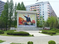 Young President Kim Il-Sung (Daniel Brennwald) Tags: propaganda president korea northkorea pyongyang dprk kimilsung nordkorea pjngjang
