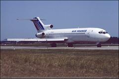 "BOEING727 228 ""AIR FRANCE"" F-BPJS 20539-873 Entzheim juin 1986 (paulschaller67) Tags: juin 1986 228 airfrance boeing727 entzheim fbpjs 20539873"