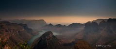 South Africa - Blyde River canyon (Toon E) Tags: morning mountain lake canon river southafrica canyon panaroma zuidafrika 2013 blyderiver tonika d450 tonikaatx116pro1116f28