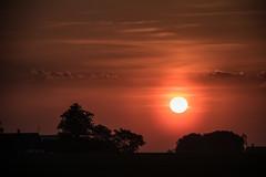 At Sunrise (Infomastern) Tags: morning sky cloud sunrise landscape countryside soluppgng landskap sdersltt landsbygd