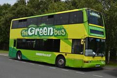 Green Bus Dennis Trident 103 PO51WNJ - RAF Museum Cosford (dwb transport photos) Tags: greenbus dennis tridentplaxton president bus decker 103 po51wnj cosford