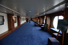 Art Gallery (Procyon Systems) Tags: queenmary2 cunard transatlantic slowtravel queenmary2remastered