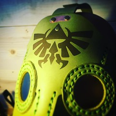 Custom order plague mask. #hyliancrest #legendofzelda #postapocalyptic #postapocalypse #steampunk #steampunkmask #leathermask #handmade #LARP #plaguedoctor #plaguedoctormask #dieselpunk #dark #Leather #costume #cosplay #tophat #leatherhat (tovlade) Tags: black girl face make up leather punk hand mask goth goggles made doctor cyber cybergoth cyberpunk plague larp steampunk postapocalyptic postapocalypse dieselpunk