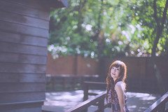 _DSC1834 () Tags: portrait woman cute beauty nikon dress bokeh kawaii brunette charming  58mm  taoyuan nocturne  f12       manuallens  noct    d3s  asphericlens ainoctnikkor58mmf12  2010201009