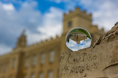 Syon House Through The Looking Glass by Simon & His Camera (Simon & His Camera) Tags: cloud building london window glass architecture distorted outdoor orb sphere round iconic middlesex brentford crystalball isleworth syon syonpark syonhouse syonhousepark simonandhiscamera
