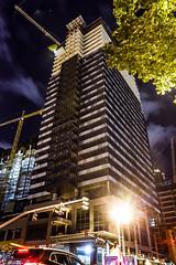 Lincoln Square Expansion (Endless Reflection Photography) Tags: seattle longexposure construction skyscrapers bellevue lincolnsquare downtownbellevue gly bellevuesquaremall bellevuecollection kemperdevelopment cmerchant1 bellevueways lincolnsquareexpansion endlessreflectionphotography