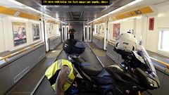 Tracer & CBF staan in the Chunnel (Peter Verberckmoes) Tags: chunnel motoreizen motoreizeningroep motor transport zuidengland 3½dagmetdemotodoorzuidengland