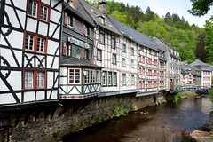 2304 (Bethie Inthesky) Tags: city house river germany resort oldtown monschau halftimberedhouse
