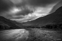 Newlands Pass (DigitalAutomotive) Tags: longexposure cumbria pass storm darkness lakedistrict thelakedistrict buttermere 2016 july leefilters littlestopper colinsmart colinsmartphotographer bw blackandwhite mono stormyskies mountainpass newlandspass wind the lake district crummock water stormy day wet weather clouds line vista view lakes england english tourism visit visiting outdoor cloud sky hill landscape mountainside sunset fire evening visitcumbria long exposure lee filters little stopper calm dreaming gloomy depression