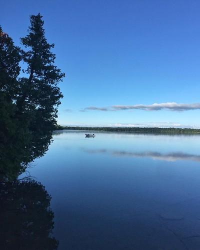 Still waters on a Manitoulin morning