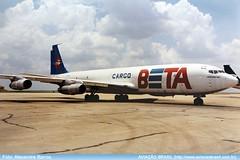Beta Cargo - PP-BRR (Aviacaobrasil) Tags: betacargo boeing707 alexandrebarros