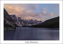 Late Day at Moraine (ken.krach (kjkmep)) Tags: lakemoraine banffnationalpark
