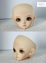 Face up for Luts KDF Ani (Mikiyochii) Tags: doll dolls custom luts ani repaint kdf faceup kiddelf mikiyochii