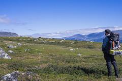 Vandring (Joakim stberg) Tags: berg gllivare hiking lappland nationalpark natur sarek vandring vildmark fs160828 sommarnoje fotosondag fotosndag norrland selfportrait