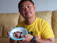 VooDoo Doughnut, Taipei (ChihPing) Tags: olympus em5 omd 45mm f18 voodoo doughnut taipei taiwan donut