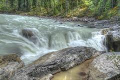 Sunwapta falls (pj'sphoto) Tags: hdrperrysawatzky banff jasper albera canada national parks sunwapta falls
