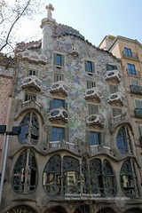 Barcelona, Casa Battl - Explore (blauepics) Tags: spain spanien espaa katalonien catalunya catalua city stadt unesco world heritage site weltkulturerbe casa battl gaudi antoni gaud house haus architecture architektur explore