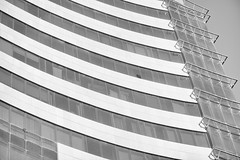 iced (ali almumen) Tags: city urban kuwait q8 street building facade glass steel concrete architecture nikon macro abstract conceptual mono monochrome light highkey gray grayscale blackandwhite