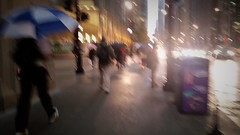 Walk In The Rain (michael.veltman) Tags: walk in the rain chicago illinois umbrellas pedestrian movement
