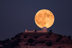 Full Harvest Moon Over Lick (Jaykhuang) Tags: fullmoon moonrise harvestmoon september 2016 lickobservatory mthamilton sanjose bayarea california