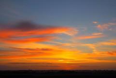 Westkapelle (Omroep Zeeland) Tags: zonsopkomst oranje platteland westkapelle