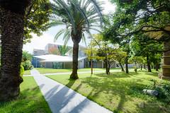 General view of Okayama University, Junko Fukutake Hall (Junko Fukutake Hall) (christinayan01) Tags: architecture building perspective hall japan sanaa sejima kazuyo nishizawa ryue