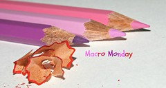 Macro Monday / Theme: Pencils, Pens, Erasers and Paperclips (Krnchen59) Tags: macromonday pencils pens erasersandpaperclips krnchen59 elke krner pink rosa lila