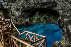Hoyo Azul - Republica Dominicana (Lukas Gonalves) Tags: grotto blue paradise perfect clean clear hoyo azul nikon d3100 1855mm beautiful