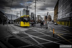 ManchesterVictoria2016.10.09-28 (Robert Mann MA Photography) Tags: manchester manchestervictoria manchestercitycentre greatermanchester england victoria victoriastation manchestervictoriastation manchestervictoriarailstation victoriarailstation city cities citycentre architecture summer 2016 sunday 9thoctober2016 manchestermetrolink metrolink trams tram nightscape nightscapes night light lighttrails