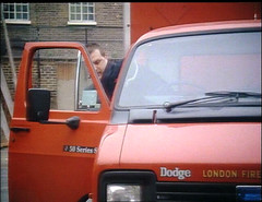 Dodge Renault 50 series  London Fire Brigade (seacoaler) Tags: london cars truck fire tv engine pump burning lorry engines series van tender appliance londons appliances brigade