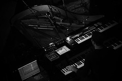 A Winged Victory For The Sullen (UT Connewitz) Tags: bw music white black canon stage leipzig sound ambient neoclassic drone utconnewitz rebeccaschweier