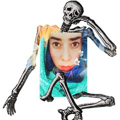 First (Loana Ibarra) Tags: selfportrait art collage digital dead mexico skeleton death arte sweden digitalart konst muerte anatomy process autorretrato malmö catchy ibarra alternative lim mexiko anatomia skelett alternativo loana loanaibarra loanaibarramazari konstimalmö