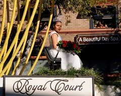 Rose Queen MADISON ELAINE TRIPLETT (Prayitno / Thank you for (9 millions +) views) Tags: school roses black girl beautiful beauty rose court high pretty young royal parade queen tournament teen float hs 2015 paegant konomark