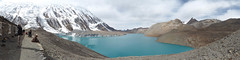 Tilicho Lake 4990m - highest lake on earth (phhesse) Tags: nepal camp oktober lake trekking see high olympus circuit rund annapurna omd highest 2014 em10 tilicho hchster