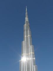 Burj Khalifa @ Dubai (*_*) Tags: city november hot tower downtown dubai uae middleeast khalifa arab unitedarabemirates burj 2014