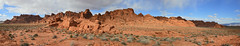 Valley of Fire Panorama (BongoInc) Tags: panorama southwest landscape desert nevada mojavedesert valleyoffirestatepark