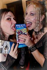 IMG_15210135_3085_DxO (PeeBee (Baxter Photography)) Tags: cate catriona woman female brunette hazel blonde lick lipstick tongues bigger better wetter
