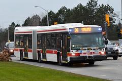 TTC NovaBus LFS Artic #9117 (SteveC123!) Tags: bus public nova ttc transit articulated bendy articulatedbus novabus lfsa lfsartic