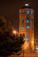 La Tour du Leughenaer de Dunkerque la nuit