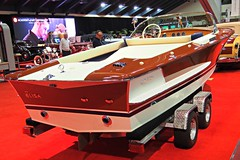 1973 Riva 21' Speed Boat 4 (Jack Snell - Thanks for over 24 Million Views) Tags: sf auto show ca wallpaper cars wall speed vintage paper boat san francisco riva 21 center international collectible moscone 1973 57th 19073 excotic jacksnell707 jacksnell