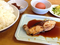 Teriyaki yellowtail lunch set from Sanshuya @ Roppongi (Fuyuhiko) Tags: from set lunch tokyo roppongi 東京 teriyaki yellowtail sanshuya 三州屋 六本木店 otkyo 鰤照焼き